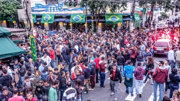 Vila  Madalena em SP 19/06/2014